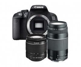 Canon EOS750 D KIT 18-55DC + 75-300DC