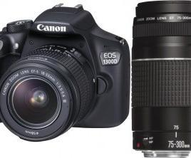 Canon EOS 1300D KIT 18-55 + 75-300