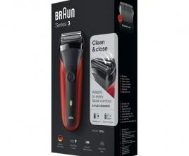 Braun 300s Red